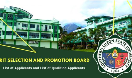 Merit Selection and Promotion Board (MPSB) List of Applicants and Qualified Applicants – September 17, 2021